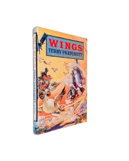 Wings Signed by Terry Pratchett First Edition Published by Doubleday 1990